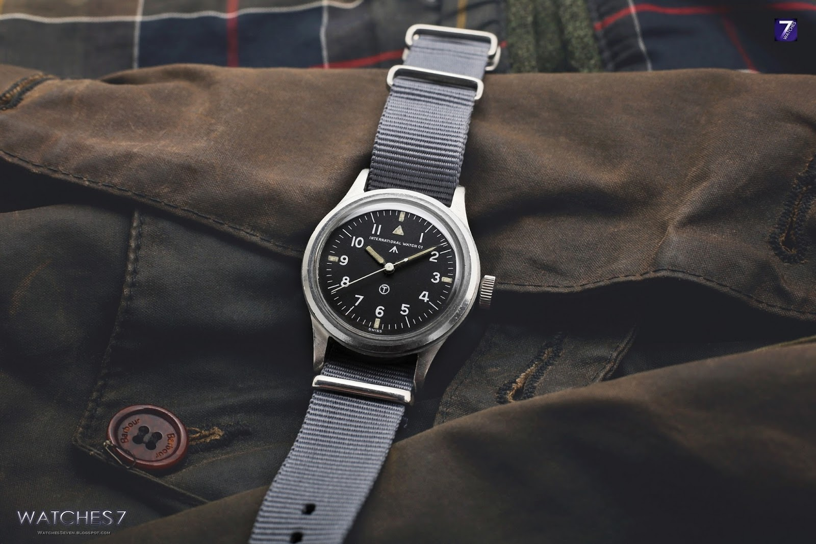 """0020a9543f6 The Pilot s Watch Mark XVIII Edition """"Tribute to Mark XI"""" (Ref. IW327007)  incorporates aspects of the iconic design of the historic Mark 11."""