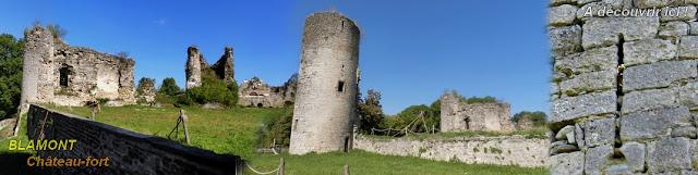 http://patrimoine-de-lorraine.blogspot.com/2019/07/blamont-54-chateau-fort.html