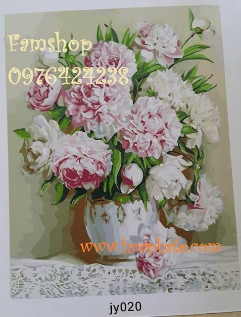 Tranh son dau so hoa tai Kham Thien