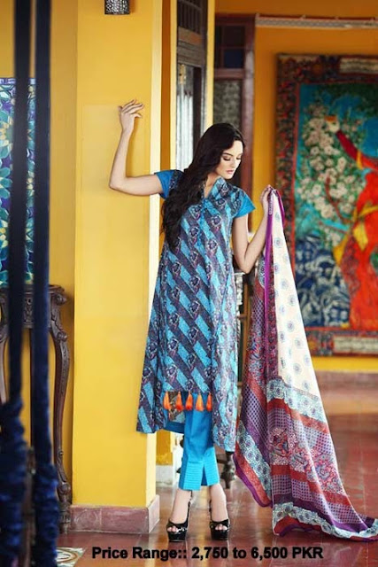 Latest Cambric Collection 2013 By Gul Ahmed