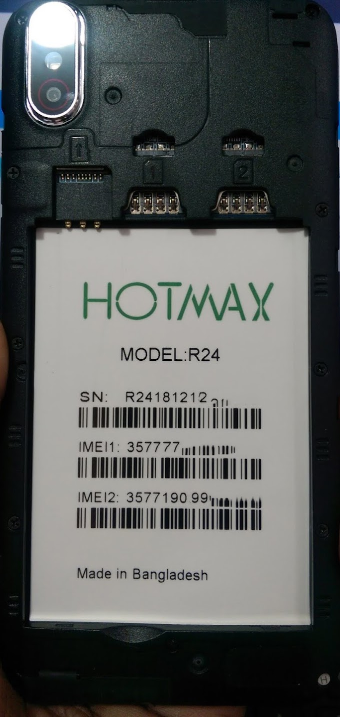HOTMAX R24 FLASH FILE MT6580 FIRMWARE