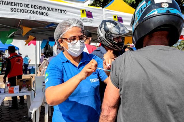 Vacinação em Porto Velho terá dois pontos de drive-thru neste final de semana