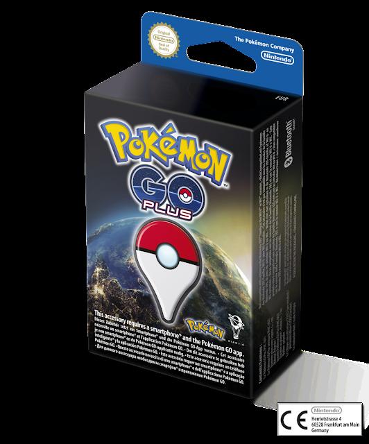 Pokémon GO Plus llegará a Europa el 16 de septiembre