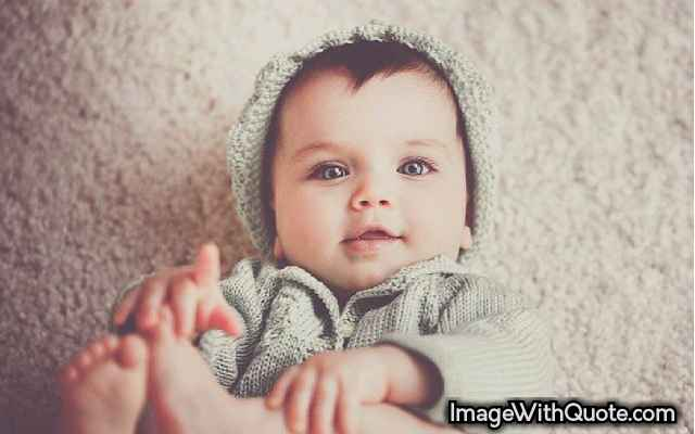 Cute Baby Pic For WhatsApp DP