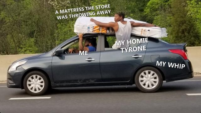 Everybody needs a friend like Tyrone!