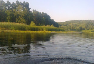 Река рыбалка фото