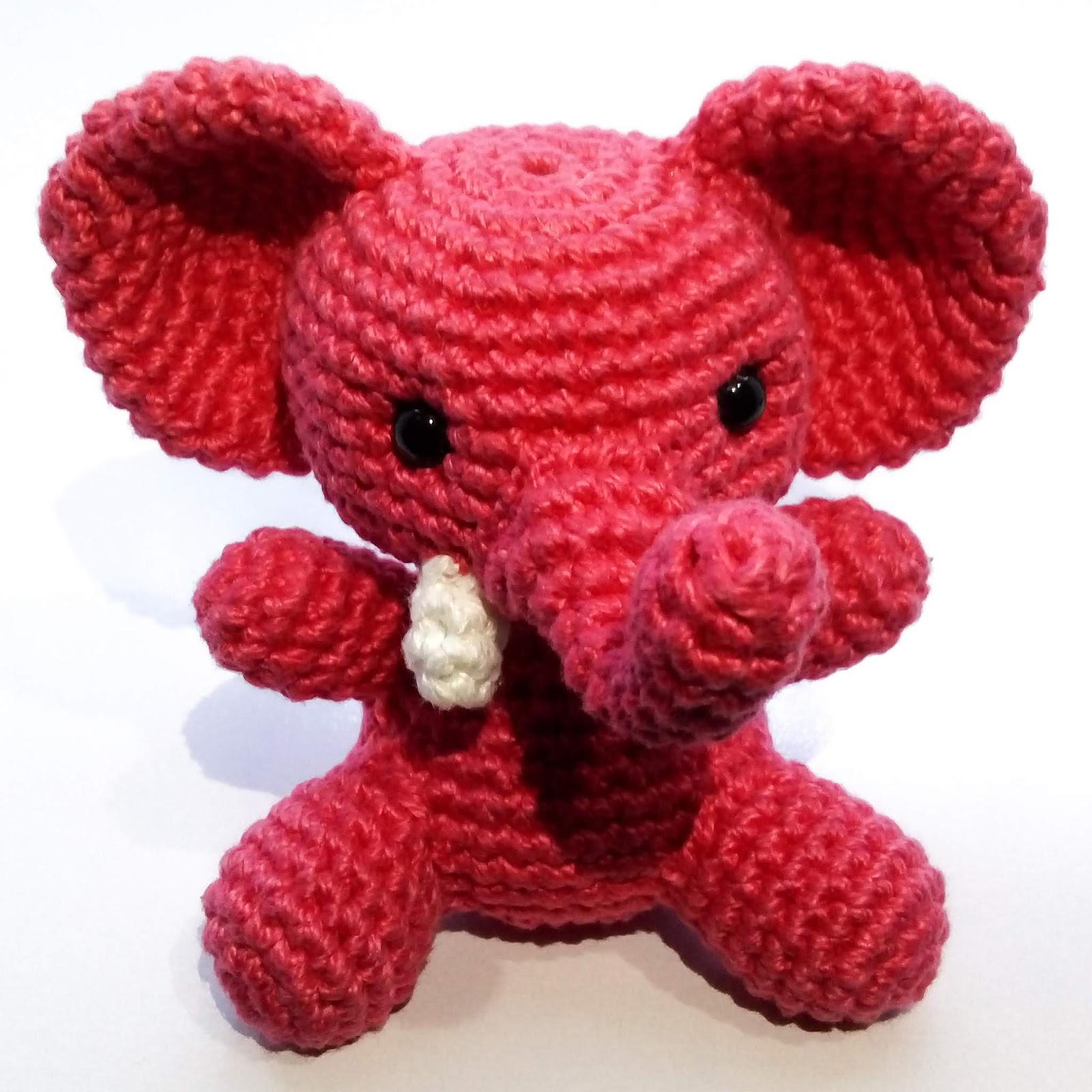 Boneco Amigurumi - Elefante Saia Rosa nas americanas | 1600x1600
