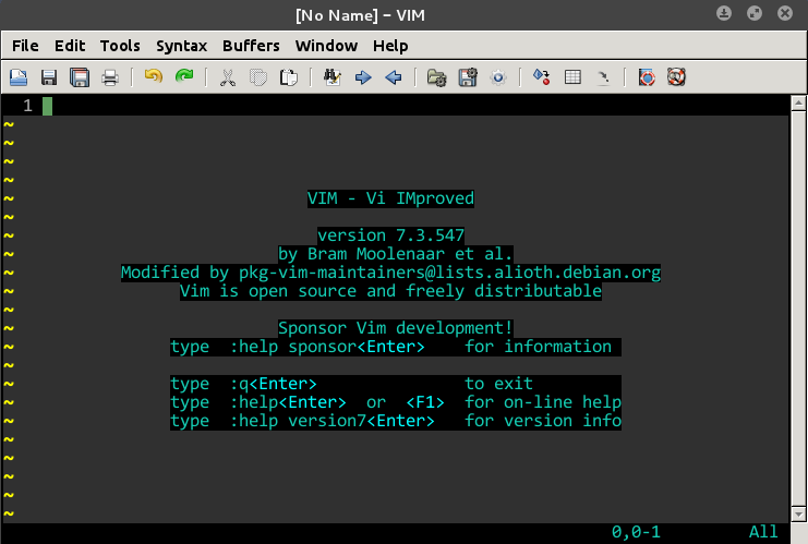 Improving the Syntax Highlighting in VIM/Gvim ~ Unix Roots