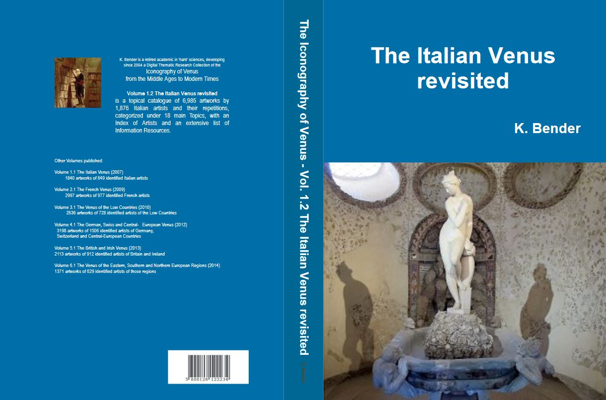 Topical Catalogue Vol.1.2 'The Italian Venus revisited' in the series  'Iconography of Venus from the Middle Ages to ModernTimes'.