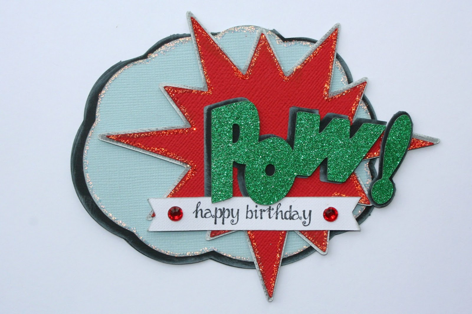 Pazzle Craft Room: Simplyprice: POW! Pazzles Craft Room Card
