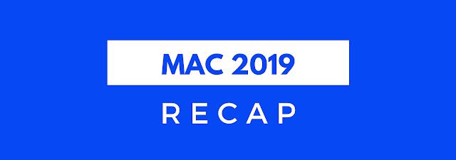 Recap Mac 2019