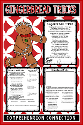 One way teachers can include ALL students in non-holiday celebrations is through thematic teaching. Check out this post for ideas for a Gingerbread theme. Freebies included like this poetry set for fluency.