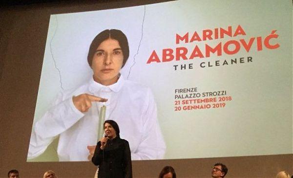 """Firenze: a Palazzo Strozzi la mostra """"The Cleaner"""" di Marina Abramovic"""