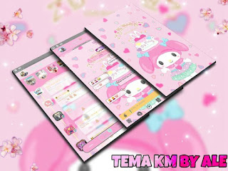 My Melody Theme For YOWhatsApp & KM WhatsApp By Ale