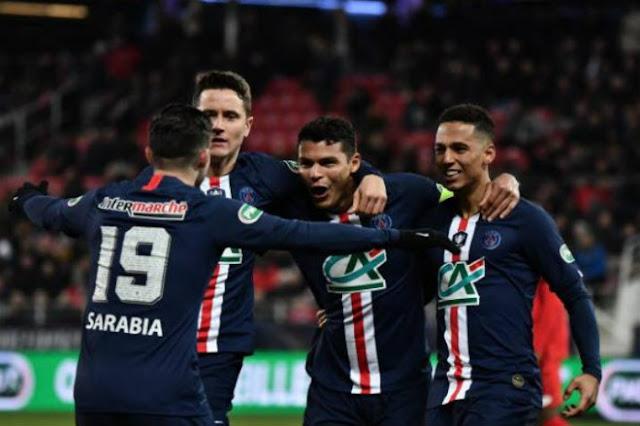 """Video Dijon 1-6 PSG: """"Set tennis"""" hủy diệt, tan nát 2 bàn phản lưới"""