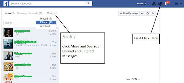 facebook messages secret
