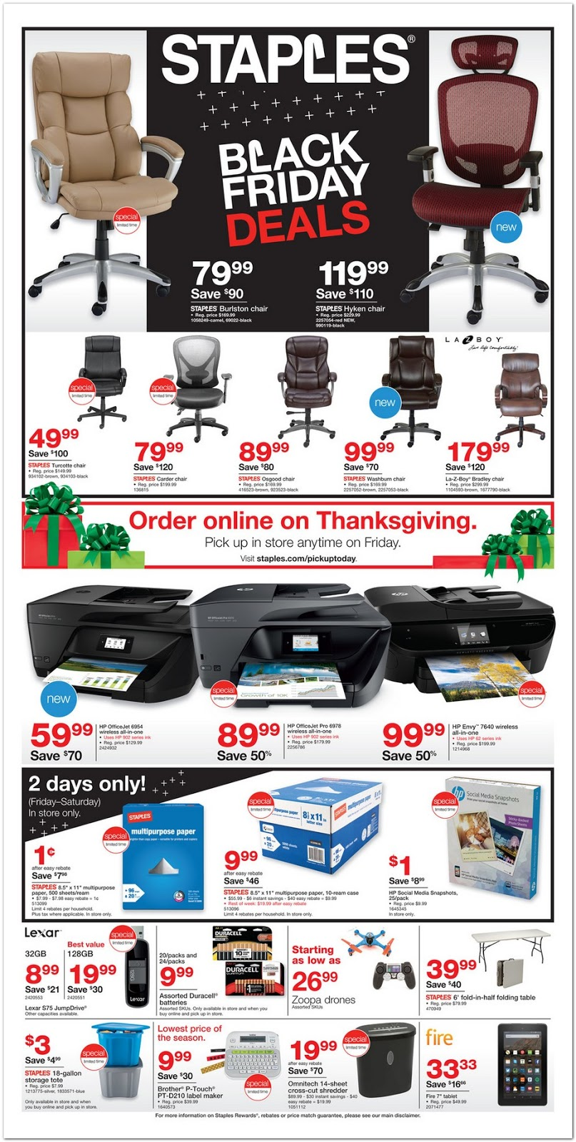 Black friday deals opening times