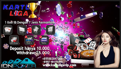 Info Judi Taruhan Kartu Di Situs Poker Teraman Kartuliga