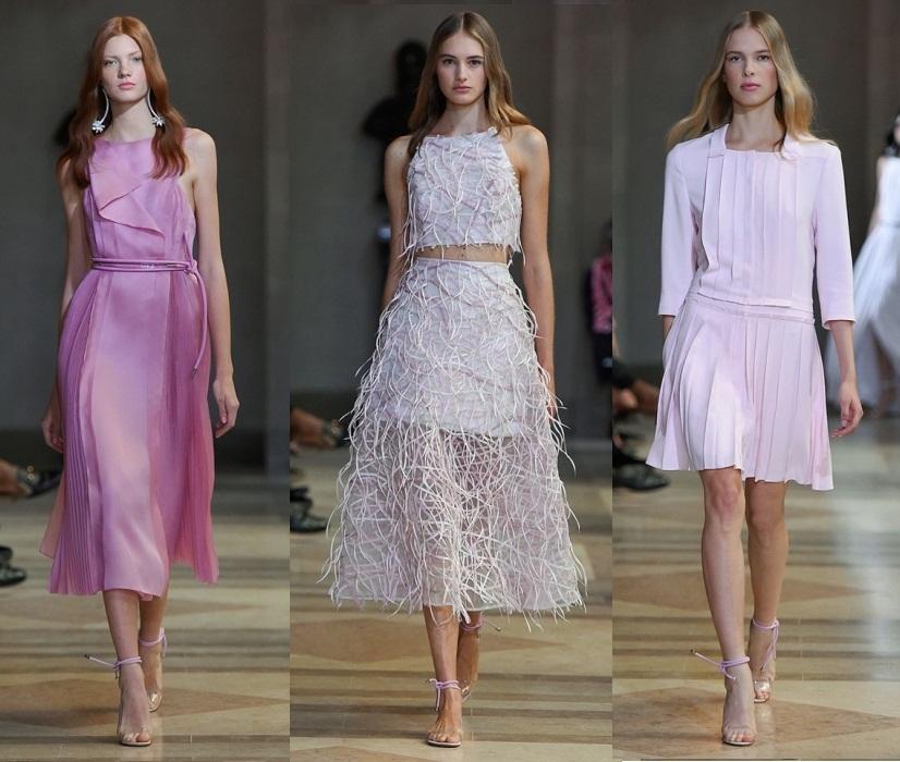 9806260fca Maravillosa colección de Carolina Herrera primavera-verano 2016 en la  semana de la moda de Nueva York