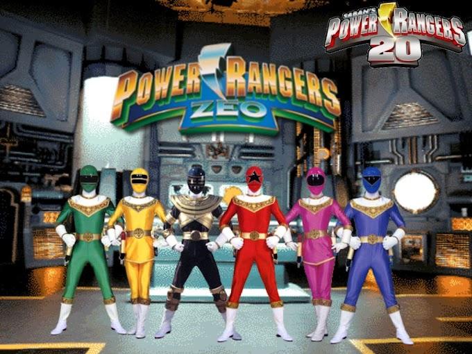 Power Rangers Zeo (Power Rangers Ketiga) Generasi 90 Merapat!