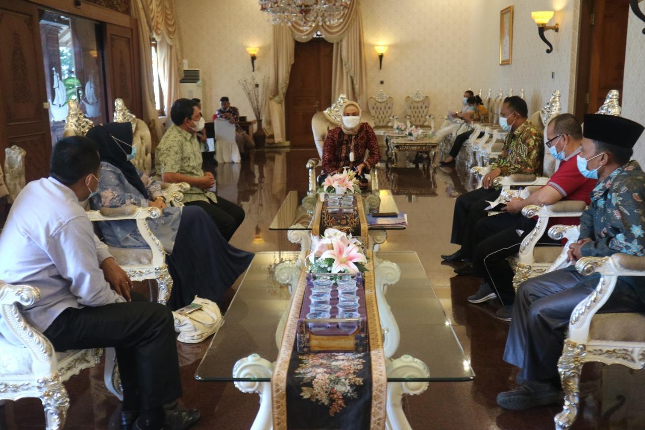 Wabup Tanjabbar Kordinasi ke Pj. Gubernur Jambi Terkait Pelaksaan MTQ Ke-50 Tingkat Provinsi Jambi