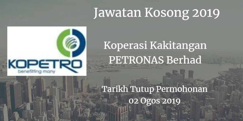 Jawatan Kosong KOPETRO 02 Ogos 2019