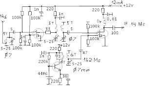 LY3LP laboratory: 145,9 MHz FET converter