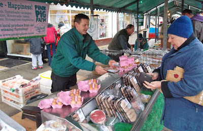 Picture four: Christmas Farmers' Market in Brigg DN20 8E - see Nigel Fisher's Brigg Blog