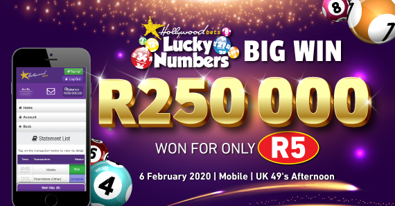 Big Lucky Numbers Win