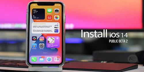 install iOS 14