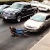 (GRAPHIC CONTENT) Car Crushed a Woman Crossing the Road on high heels to De@th - VIDEO