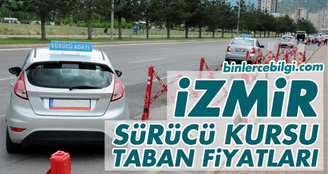 İzmir Sürücü Kursu Fiyatları 2021, İzmir'de uygulanan ehliyet kurs ücretleri 2021 taban fiyat listesi