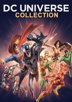 Coleção DC Universo Animação - Poster
