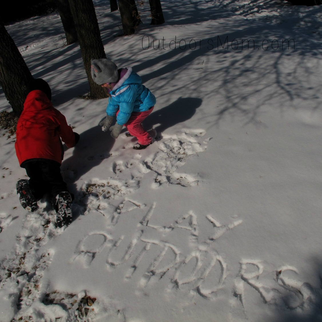 OutdoorsMom Tips  Simple Activities for Getting Kids
