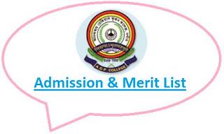 Anandaram Dhekial Phookan College Merit List