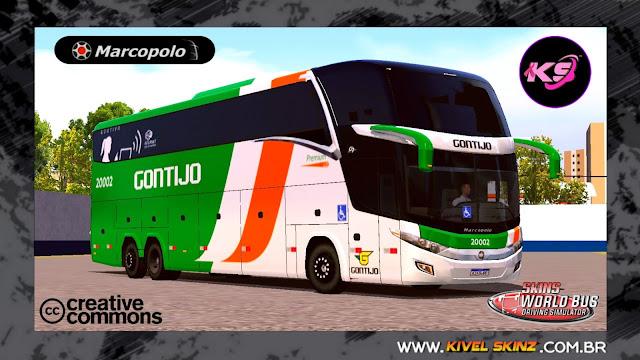 PARADISO G7 1600 LD - VIAÇÃO GONTIJO (FICTÍCIA)