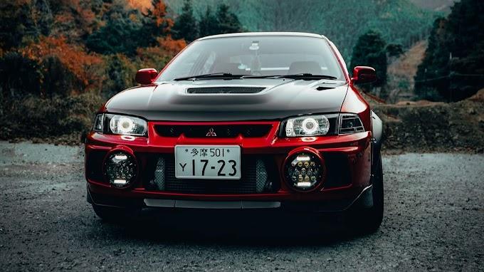 Carro Esportivo Mitsubishi Lancer Evolution