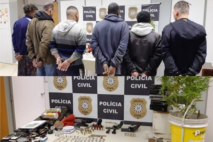 Polícia Civil desarticula organização criminosa e prende seis pessoas em Gravataí