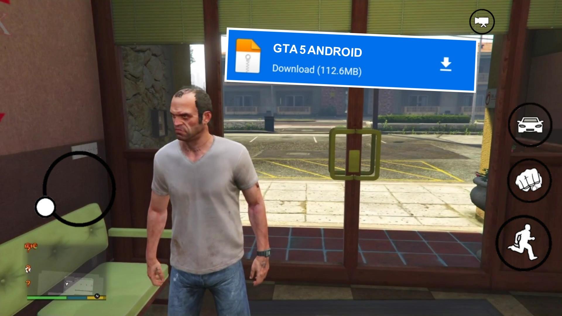 جديد ! تحميل لعبة GTA V الأصلية للأندرويد برابط مباشر مع طريقة تخطي الاعلان | GTA V APK