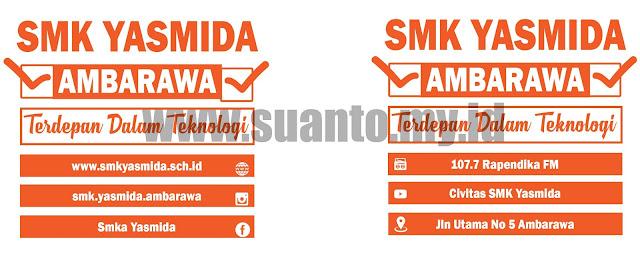 Desain Gelas Muug Sovenir SMK Yasmida Ambarawa