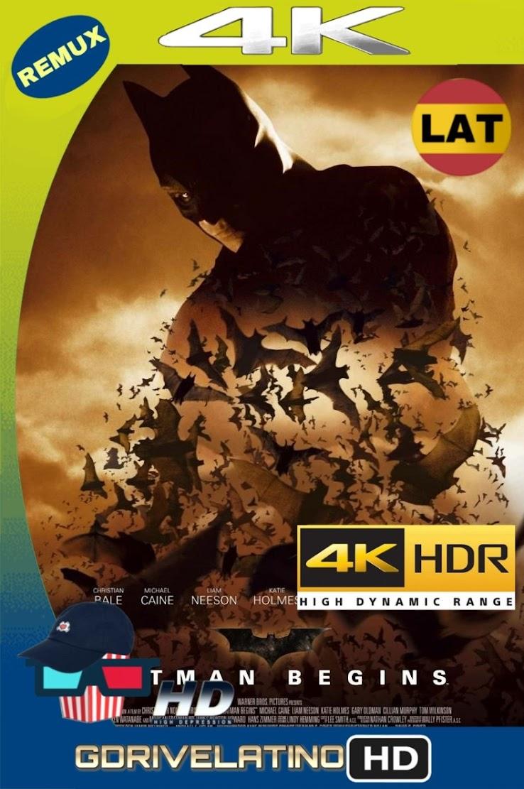 Batman Inicia (2005) BDRemux 2160P 4K HDR Lat-Ing mkv
