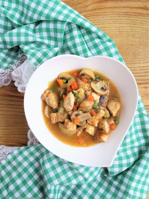 Potrawka z kurczaka klasyczna przepis