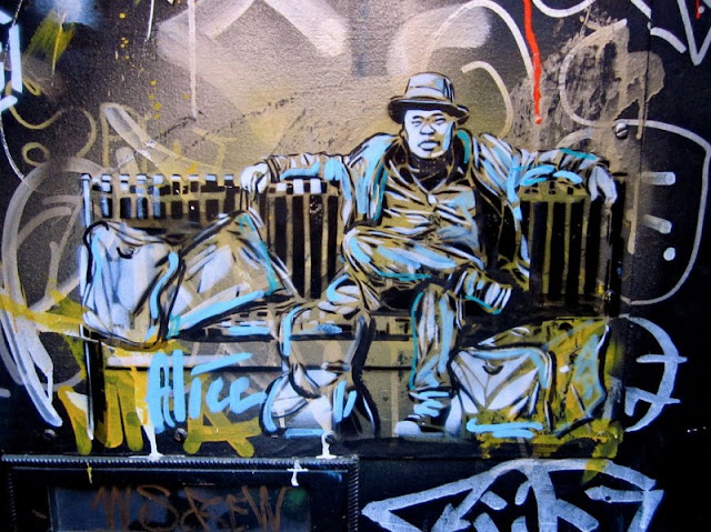 Рисунки на стенах. Alice Pasquini 30
