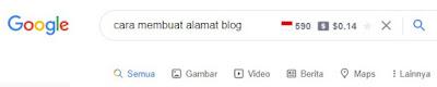 membuat alamat blog