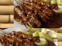 Resep Bumbu Kacang Sate Ayam Spesial