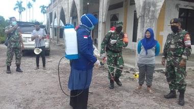 Sifrowati Yulianto, Mengajak Masyarakat Melakukan Penyemprotan Cairan Desinfekan Secara Mandiri