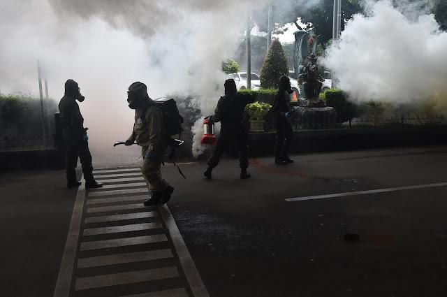 Pasukan TNI dan Polri Berhasil Lumpuhkan Teroris di JCC