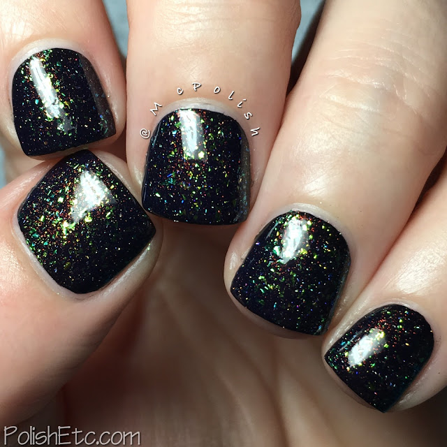 Digital Nails - Multiverse - flakie topper - McPolish