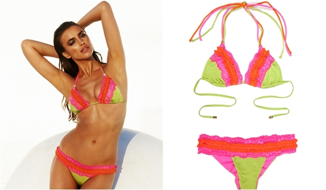 Beach Bunny va va voom bikini
