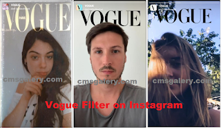 Vogue filter on Instagram | How to get Instagram Vogue Filter to join Instagram Vogue Challenge filter
